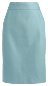 J.Crew Skirt Soft Aquamarine