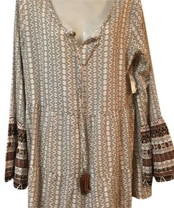 New Directions short dress White/Brown on Tradesy