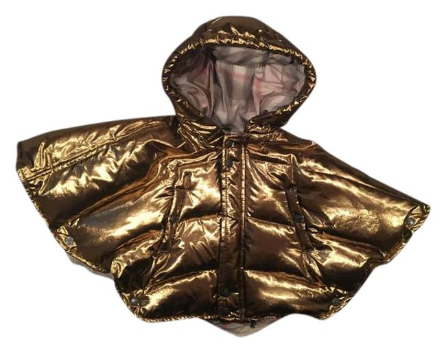 Preload https://img-static.tradesy.com/item/20960878/burberry-gold-children-puffer-ponchocape-size-os-one-size-0-1-650-650.jpg