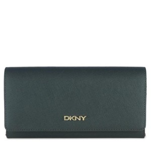 DKNY Saffiano Leather Large Carryall Wallet