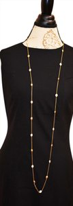 Other Long chain necklace with rhinestones