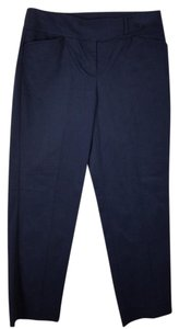 Talbots Navy Blue Curvy Size 2 Straight Pants