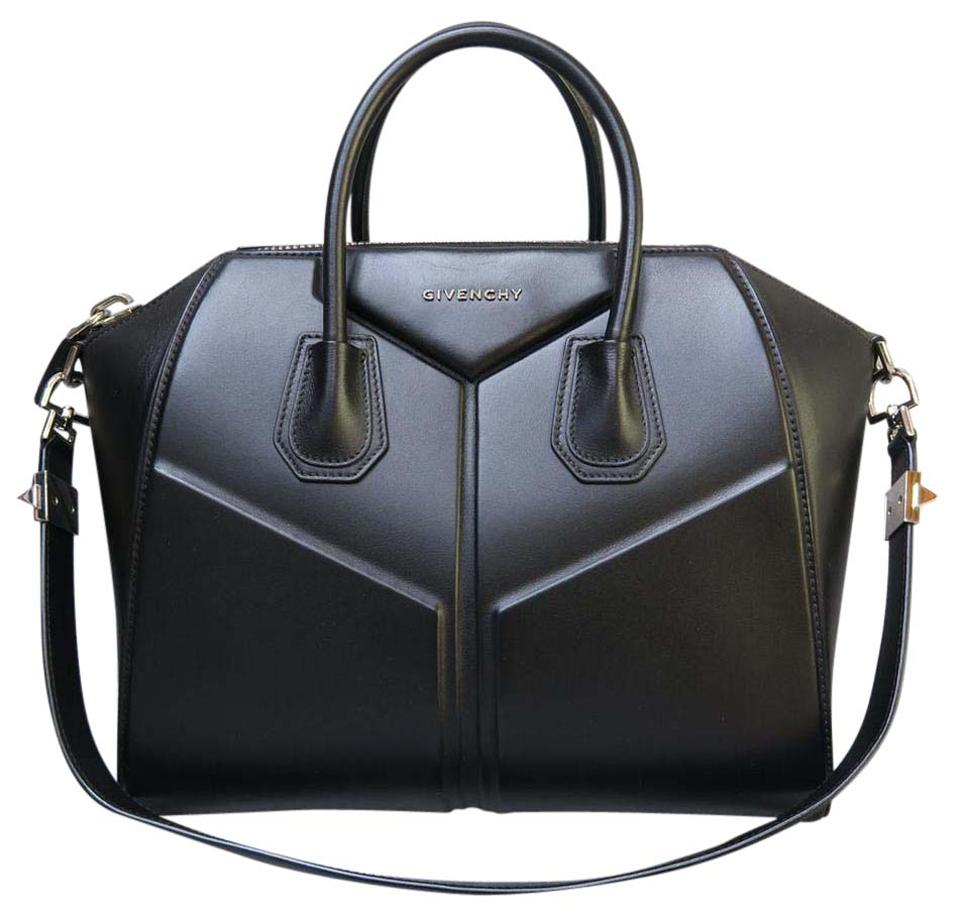 39858545f5 Givenchy Large Antigona Black Calfskin Satchel - Tradesy
