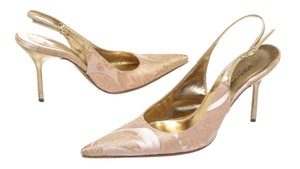 Dolce&Gabbana Pink/Gold Pumps