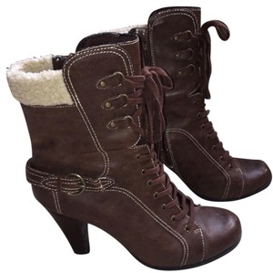 a.n.a. a new approach Ankle Brown Cream Boots