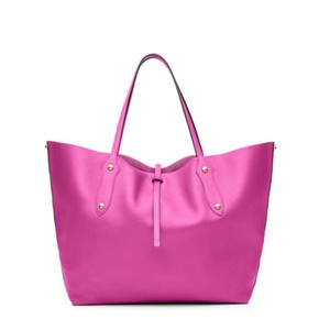 Annabel Ingall Leather Tote in pink