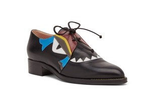 Fendi BLACK MULTI Flats