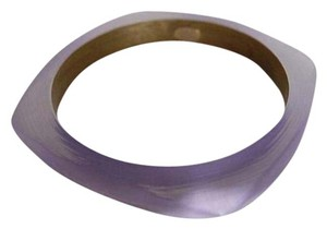 Alexis Bittar Alexis Bittar Purple Lucite Skinny Square Bangle
