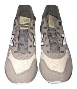 New Balance Grey, Gold Athletic