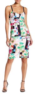 Clover Canyon Designer Floral Small Skirt Multi Pink