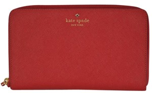 Kate Spade Kate Spade New York Mikas Pond Leather Zip Around Travel Wallet
