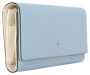 Kate Spade Kate Spade New York Leather Mikas Pond Phoenix Wallet Arctic Sky