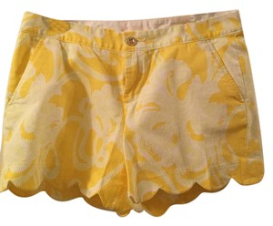 Lilly Pulitzer Shorts Yellow and white