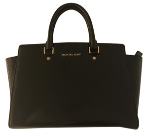 Michael Kors Patent Leather Tote Patent Leather Satchel in Black