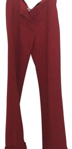 J.Crew Wide Leg Pants Red