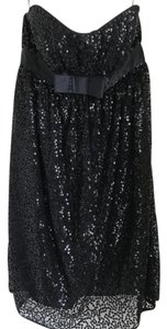 Betsey Johnson Sequin Lbd Evening Dress
