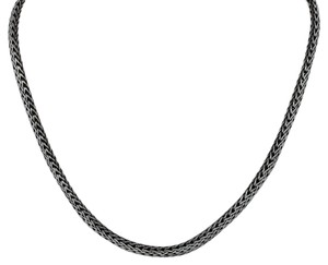 John Hardy John Hardy Sterling Silver & 18K Gold Woven Chain Necklace