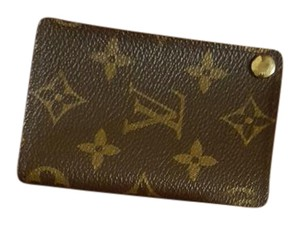 Louis Vuitton photo/business card/credit card holder Credit Wallet Photos Id Wristlet in Monogram