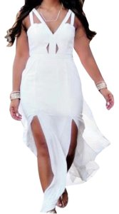 white Maxi Dress by BCBGMAXAZRIA