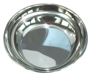 Tiffany & Co. Tiffany & Co. handcrafted pewter round bowl. New includes Tiffany blue pouch and box