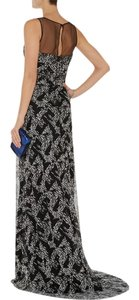 Badgley Mischka Beaded Embellished Evening Gown Dress