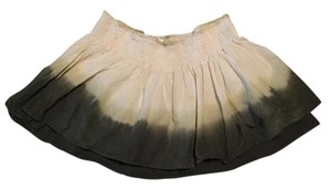 Charlotte Russe Mini Skirt Brown / cream