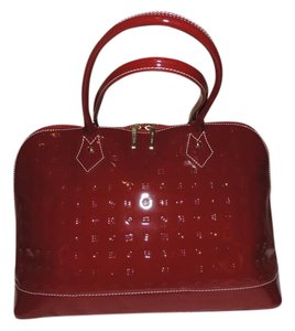 Arcadia Satchel in red