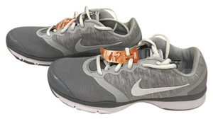 Nike white and gray Athletic