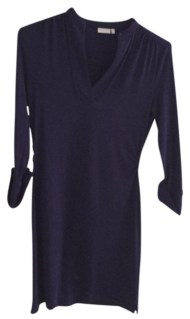 Item - Navy Pullover Short Casual Dress Size 0 (XS)