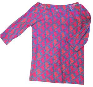 Lilly Pulitzer Top Blue and Pink