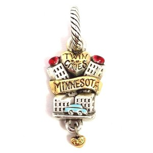 Brighton Brighton ABC Minnesota State Charm, J91412 Silver, Gold Finish