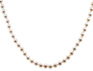 Mikimoto Mikimoto Akoya 18k Yellow Gold 5.5mm Pearl Necklace