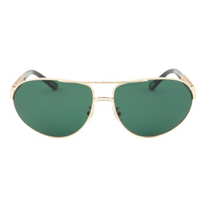 Chopard CHOPARD MEN G.P.M.H. A57 GOLD MIRRORED POLARIZED AVIATOR SUNGLASSES