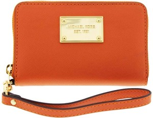 Michael Kors Michael Kors Orange Leather wallet
