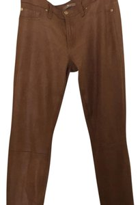 7 For All Mankind Skinny Pants Camel