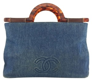 Chanel Denim Tote in Denim Blue