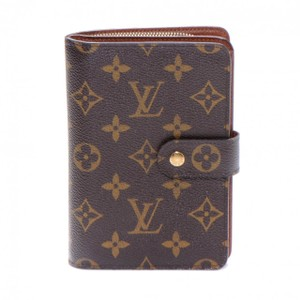 Louis Vuitton France Monogram Canvas Porte Papier Zip Bifold Big Wallet
