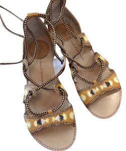 House of Harlow 1960 yellow Sandals