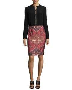 Tory Burch Zimmermann Alice Olivia Elizabeth James Rachel Zoe Haute Hippie Skirt Red