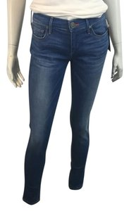 True Religion Frame Denim J Brand Rag & Bone Skinny Jeans-Dark Rinse