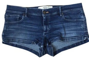 Abercrombie & Fitch Mini/Short Shorts Dark, faded denim