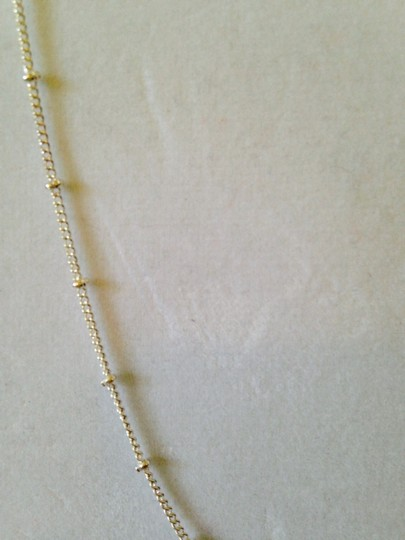 My Closet- Embellished by Leecia Silver Marcasite Cross & Ball Long Necklace