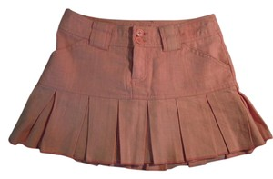 Aropostale Linned Mini Skirt Pink