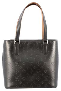 Louis Vuitton Leather Tote in Grey