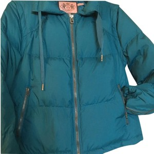 Juicy Couture Pufferjacket Newwithtags Juicycouturejacket Turquoise Coat