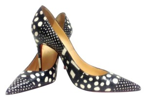 Christian Louboutin Patchwork Black. And White Pumps