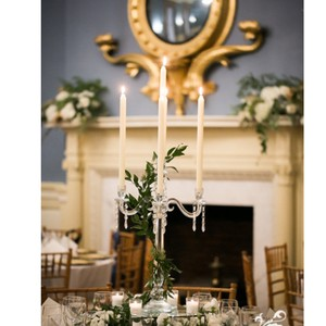 Set Of 18 4-arm Crystal Candelabras
