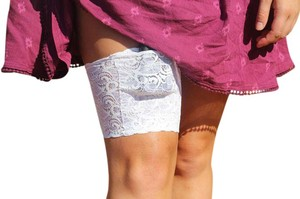FREETOGO® FREETOGO(R) Leg Band with inside pocket for insulin pump or phone