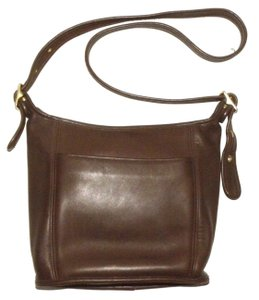 Coach Vintage Leather Classic Legacy Bucket Shoulder Bag