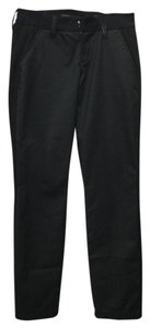Level 99 Jeans Trouser Black Paneled Modal Straight Pants Forever Black